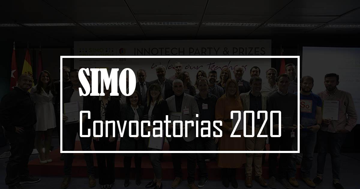 simo convocatorias 2020