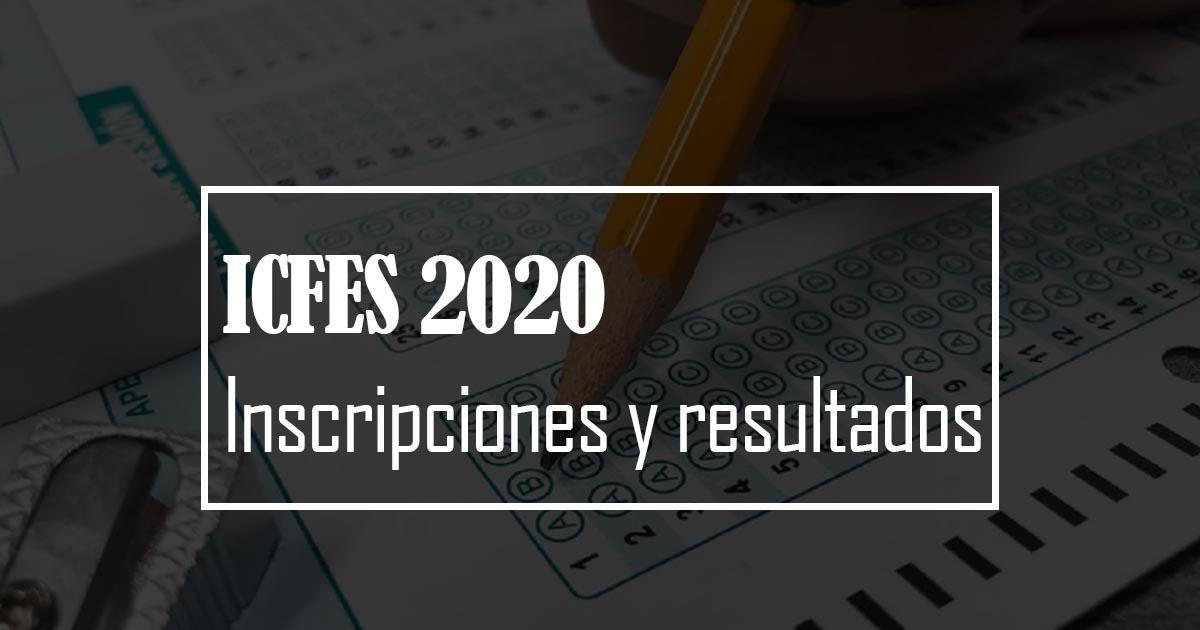 inscripciones icfes 2020