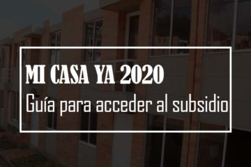 mi casa ya 2020