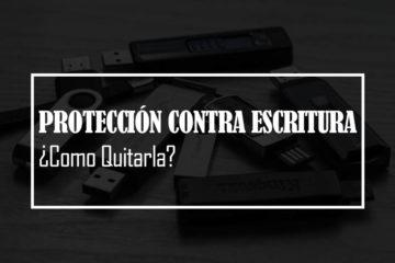 quitar proteccion contra escritura