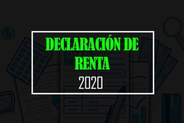 declaracion de renta 2020