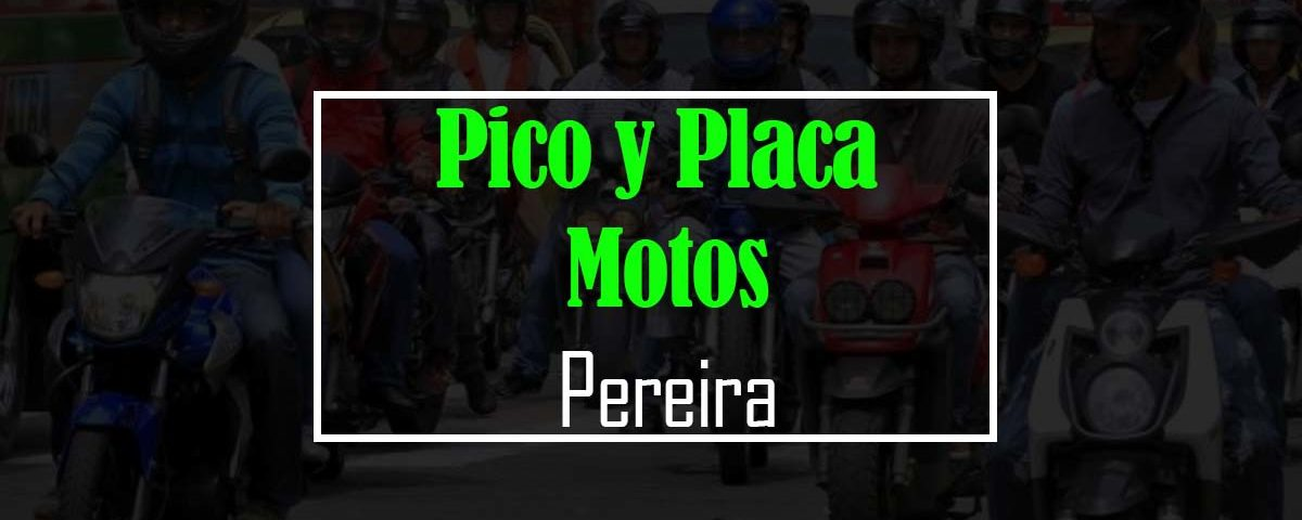 pico y placa pereira motos