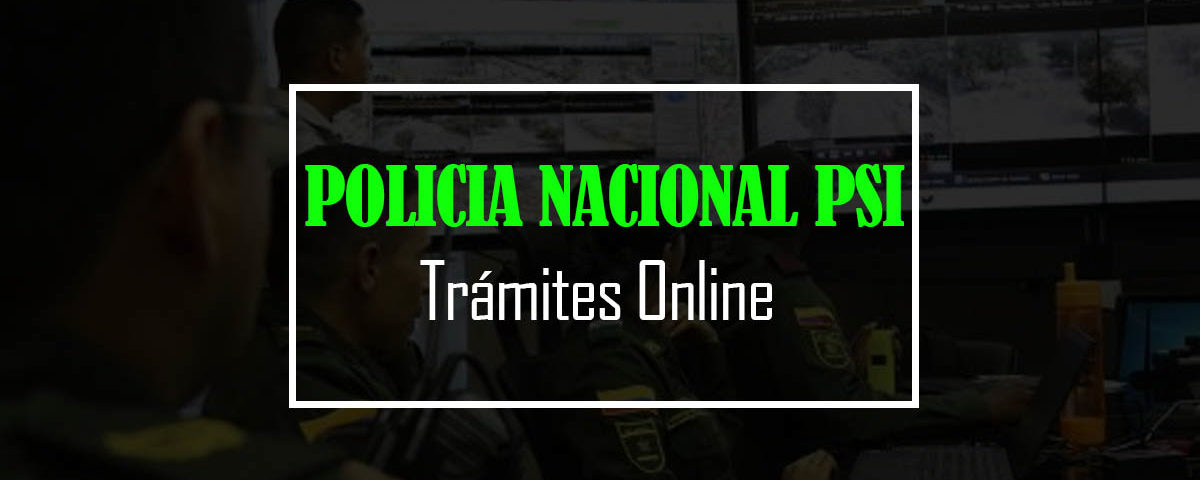 policia nacional psi