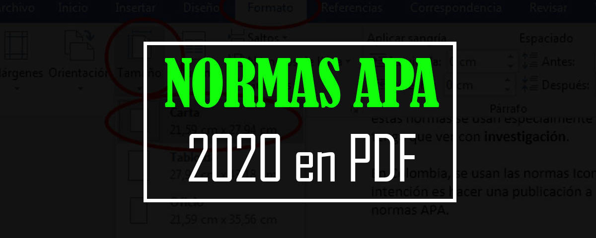 Normas apa 2020 pdf