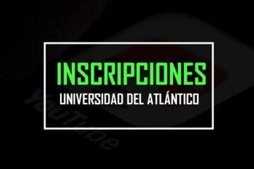 Inscripciones Universidad del Atlantico 2020