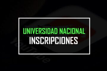 Inscripciones a la universidad nacional