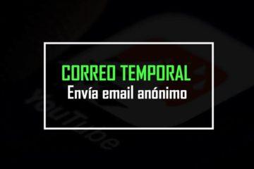 correo temporal
