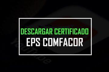 descargar certificado eps comfacor
