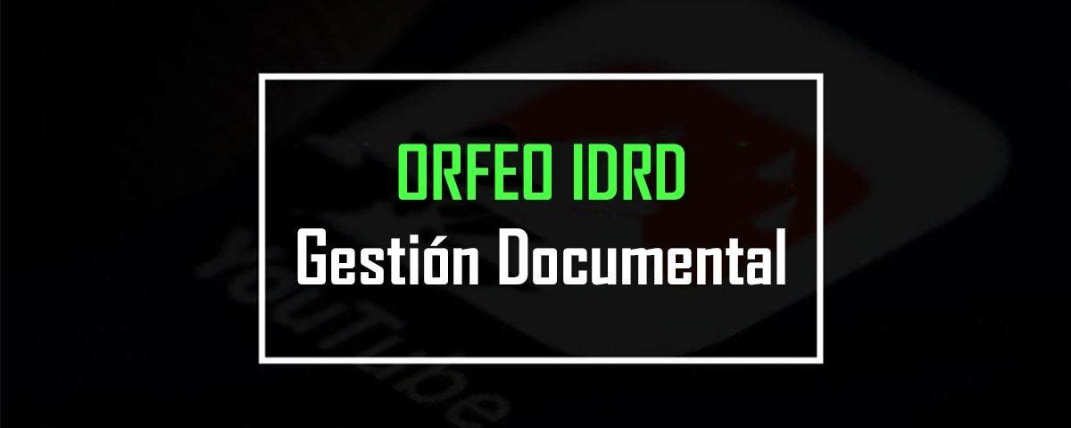 orfeo idrd