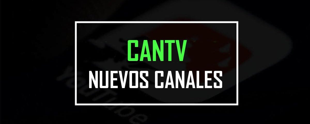 CANTV television satelital canales