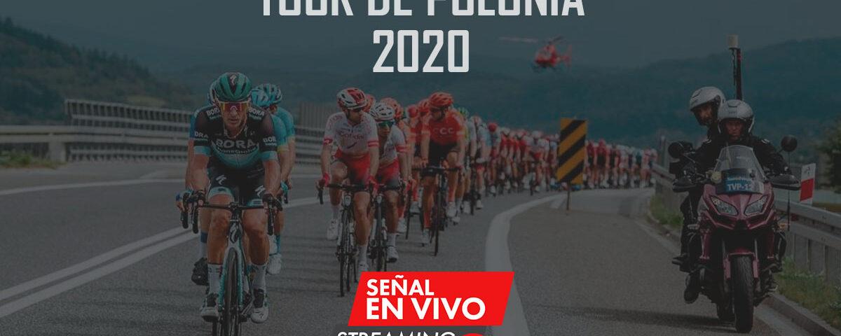 tour de polonia 2020 en vivo