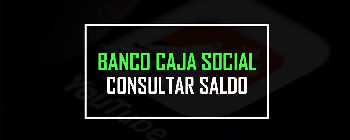 banco caja social consulta de saldo