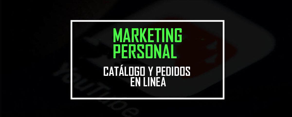 catalogo marketing personal