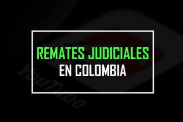 remates judiciales en colombia